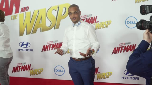 TI at the 'AntMan and the Wasp' World Premiere at the El Capitan Theatre on June 25 2018 in Hollywood California