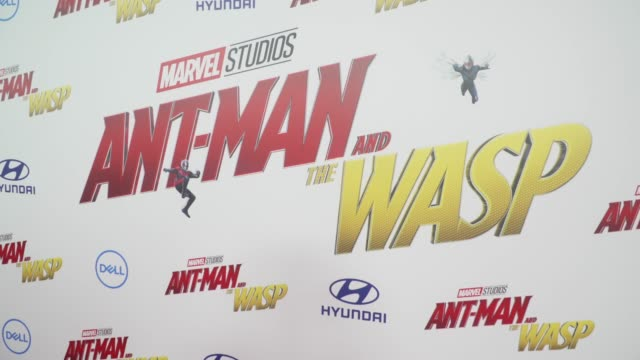 ATMOSPHERE at the AntMan and the Wasp World Premiere at the El Capitan Theatre on June 25 2018 in Hollywood California