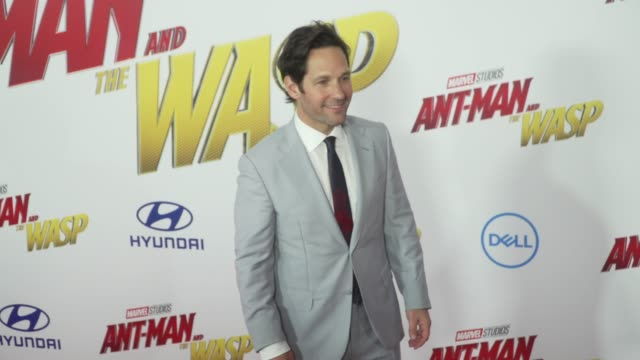 CLEAN at the 'AntMan and the Wasp' World Premiere at the El Capitan Theatre on June 25 2018 in Hollywood California