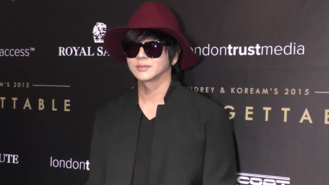 YB at the Audrey and KoreAm 2015 Unforgettable Gala at The Beverly Hilton Hotel in Beverly Hills at Celebrity Sightings in Los Angeles on December 12...