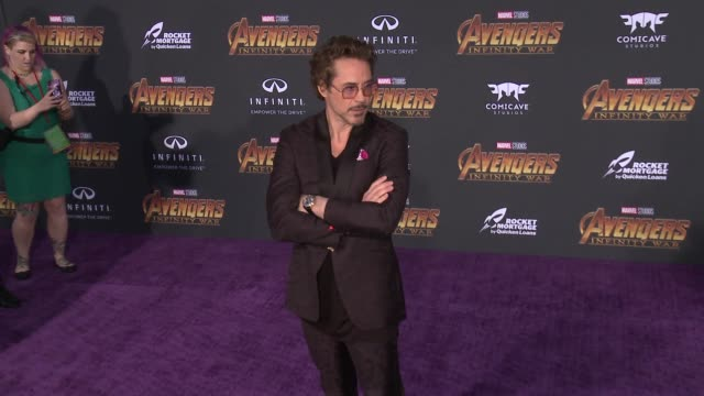 CLEAN at the 'Avengers Infinity War' World Premiere on April 23 2018 in Hollywood California