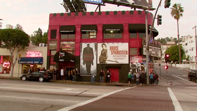 ATMOSPHERE at the Avril Lavigne acoustic performance at WhiskyAGoGo in Los Angeles California on November 6 2007