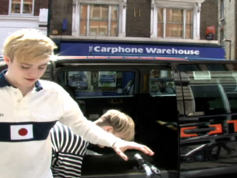 at the Celebrity Sightings in London at London England