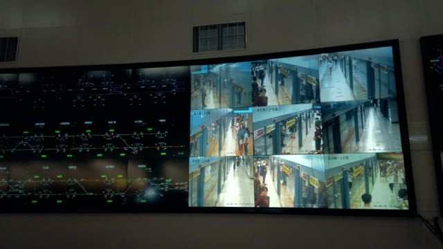 at the control center of the xi'an metro,shaanxi,china. - 實時拍攝 個影片檔及 b 捲影像