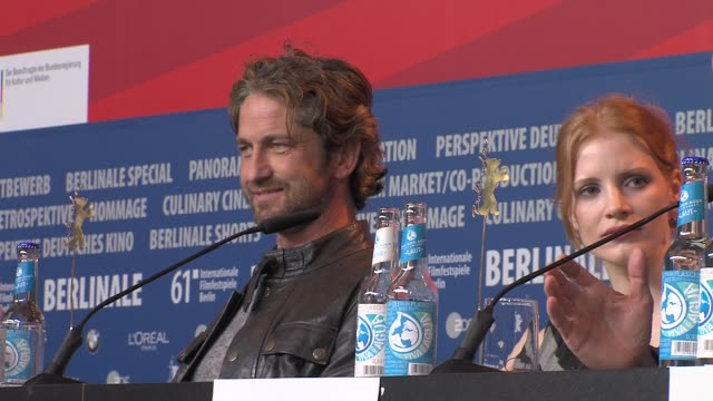 ATMOSPHERE at the Coriolanus Press Conference 61st Berlin International Film Festival at Berlin