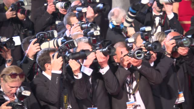 atmosphere at 'the disappearance of eleanor rigby' red carpet at grand theatre lumiere on may 17 2014 in cannes france - grand theatre lumiere stock videos & royalty-free footage