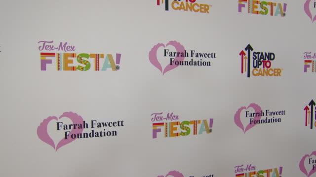 "atmosphere at the farrah fawcett foundation's ""texmex fiesta"" in los angeles ca - farrah fawcett stock videos and b-roll footage"