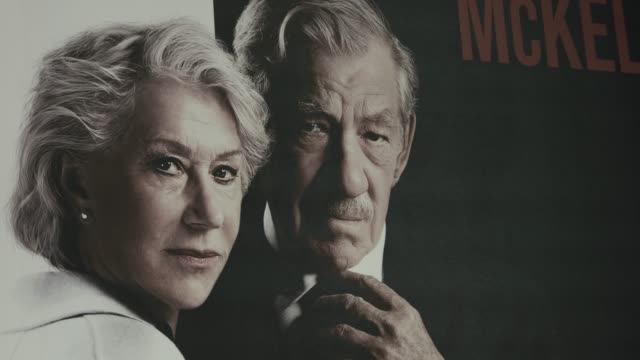 """at """"the good liar"""" world premiere at bfi southbank on october 28, 2019 in london, england. - ian mckellen stock videos & royalty-free footage"""