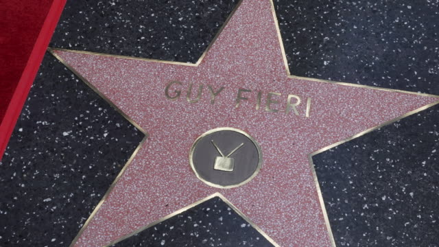 CA: Guy Fieri Honored with a Star on the Hollywood Walk of Fame