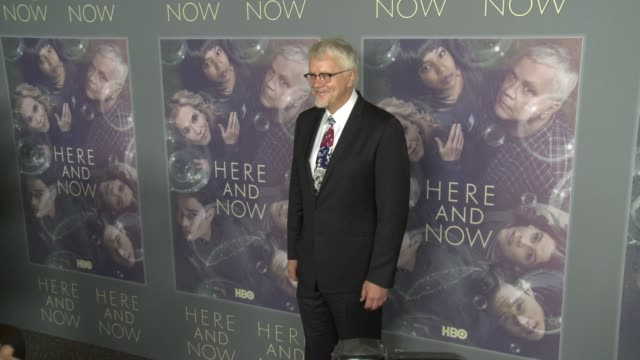 """at the hbo's """"here and now"""" premiere at directors guild of america on february 05, 2018 in los angeles, california. - tim robbins stock videos & royalty-free footage"""