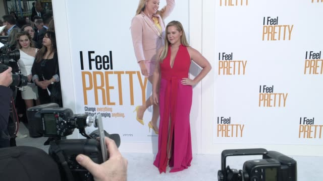 CLEAN at the 'I Feel Pretty' World Premiere at Westwood Village Theatre on April 17 2018 in Westwood California