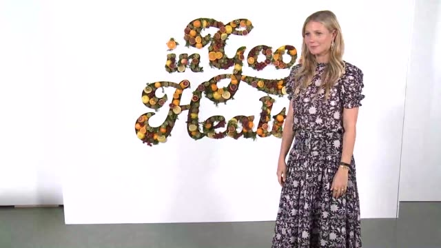 chyron at the in goop health summit at 3labs on june 09 2018 in culver city california - gwyneth paltrow stock videos & royalty-free footage