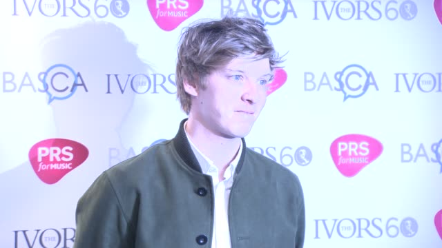 chyron at the ivor novello awards 2015 - bob geldof stock videos & royalty-free footage