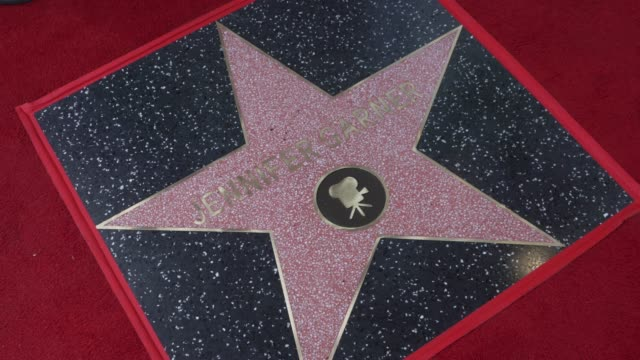 at the jennifer garner honored with a star on the hollywood walk of fame on august 20, 2018 in hollywood, california. - walk of fame stock videos & royalty-free footage