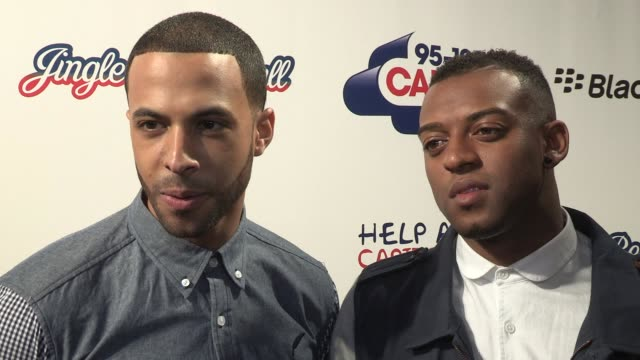 stockvideo's en b-roll-footage met jls at the jingle bell ball at 02 arena on december 08 2012 in london england - jongensband