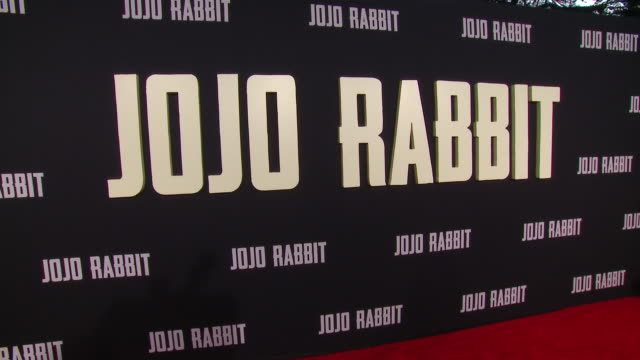 """atmosphere at the """"jojo rabbit"""" los angeles premiere presented by fox searchlight pictures in los angeles ca - fox searchlight pictures stock videos & royalty-free footage"""