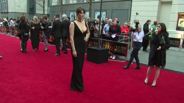 at The Laurence Olivier Awards with MasterCard on 12th April 2015 in London England