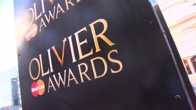 ATMOSPHERE at The Laurence Olivier Awards with MasterCard on April 13 2014 in London England