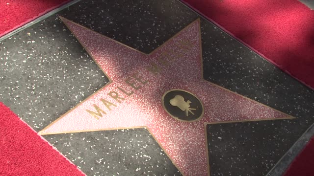 ATMOSPHERE at the Marlee Matlin Honored With A Star On The Hollywood Walk Of Fame at Hollywood CA