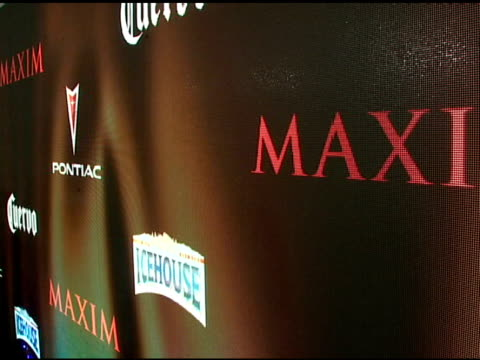 ATMOSPHERE at the Maxim's 8th Annual Hot 100 Party at Ono at The Gansevoort Hotel in New York New York on May 16 2007