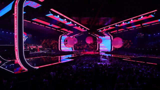 at the mtv europe music awards on november 4, 2018 in bilbao, spain. - mtv europe music awards stock videos & royalty-free footage
