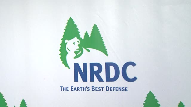 atmosphere at the national resources defense council's 20th anniversary celebration at beverly hills ca - national resources defense council stock videos & royalty-free footage