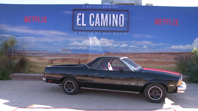 atmosphere at the netflix hosts the world premiere for el camino a breaking bad movie at regency village theatre on october 07 2019 in westwood... - netflix stock videos & royalty-free footage