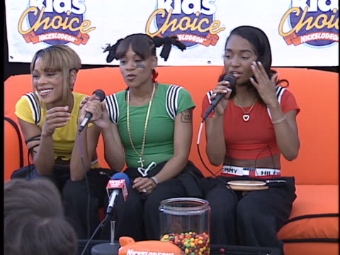 TLC at the Nickelodeon Kids Choice Awards at Santa Monica Airport