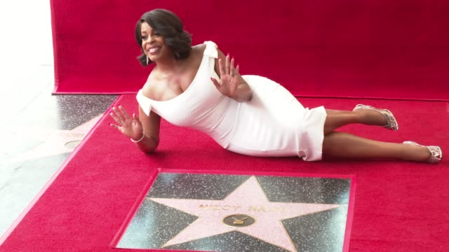 CHYRON at the Niecy Nash Honored with a Star on the Hollywood Walk of Fame on July 11 2018 in Hollywood California