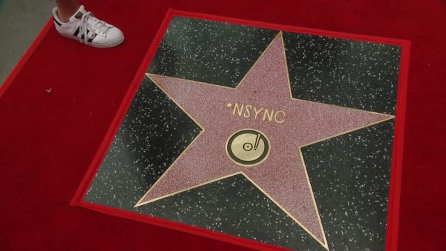 ATMOSPHERE at the *NSYNC Honored with a Star on the Hollywood Walk of Fame on April 30 2018 in Hollywood California
