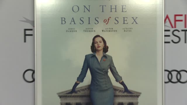 """at the """"on the basis of sex"""" opening night world premiere gala screening presented by focus features and participant media at tcl chinese theatre on... - participant stock videos & royalty-free footage"""