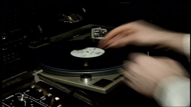DJ at the Palladium Nightclub in 1992 New York City