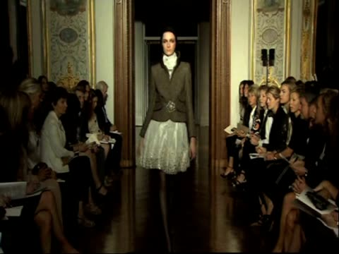 at the paris fashion week haute couture fall/winter 2010 paris france - anamorphic stock videos and b-roll footage