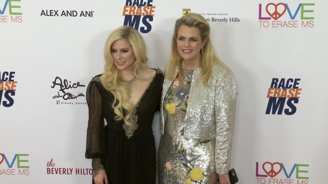 at the race to erase 25th anniversary gala at the beverly hilton hotel on april 20, 2018 in beverly hills, california. - the beverly hilton hotel stock videos & royalty-free footage