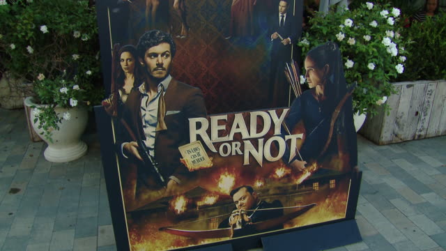 """atmosphere at the """"ready or not"""" los angeles special screening presented by fox searchlight pictures in los angeles ca - fox searchlight pictures stock videos & royalty-free footage"""