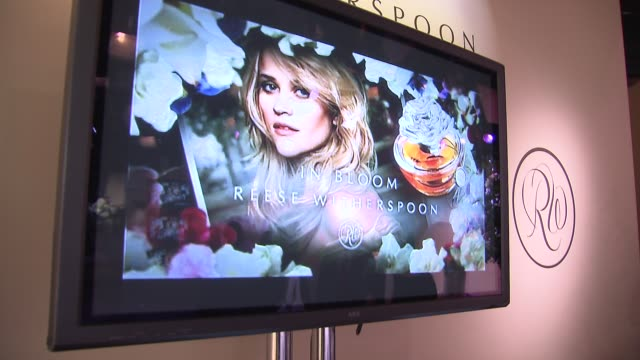 ATMOSPHERE at the Reese Witherspoon And Avon Celebrate The Launch Of Her New Fragrance 'In Bloom By Reese Witherspoon' at New York NY
