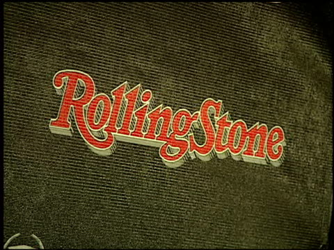 at the rolling stone magazine 40th anniversary party at hard rock hotel in las vegas, nevada on september 8, 2007. - ハードロックカフェ点の映像素材/bロール