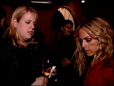 vídeos de stock, filmes e b-roll de atmosphere at the sergio rossi store opening celebration at sergio rossi in los angeles california on january 16 2008 - inauguração de loja