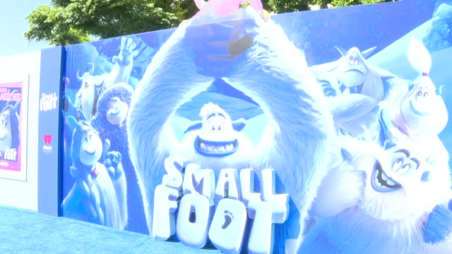 ATMOSPHERE at the Smallfoot World Premiere at Regency Village Theatre on September 22 2018 in Westwood California