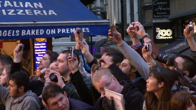 ATMOSPHERE at the Sucker Punch UK Premiere at London England