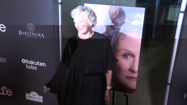 clean at the the wife los angeles premiere at pacific design center on july 23 2018 in west hollywood california - glenn close stock videos & royalty-free footage