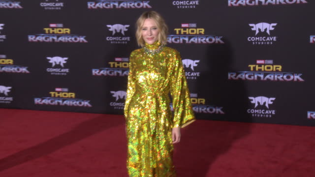 CLEAN at the Thor Ragnarok Premiere at the El Capitan Theatre on October 10 2017 in Hollywood California