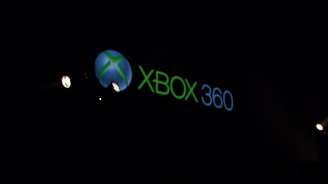 atmosphere at the xbox 360® halo 3 sneak preview at quixote studios west in hollywood california on may 15 2007 - xbox video stock e b–roll