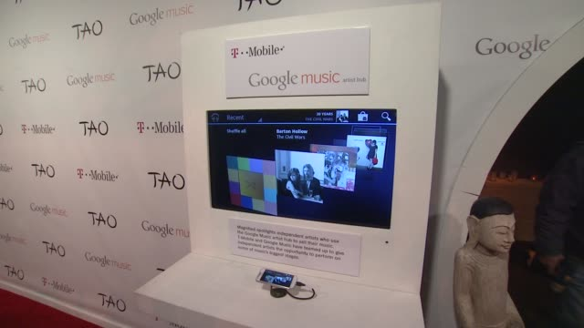atmosphere at tmobile presents google music at tao day 4 in park city utah on 1/23/2012 - google brand name stock videos and b-roll footage