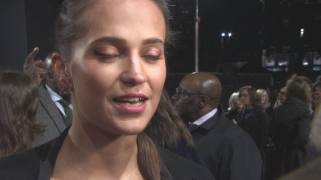 CLEAN at Tomb Raider European Premiere on March 06 2018 in London England