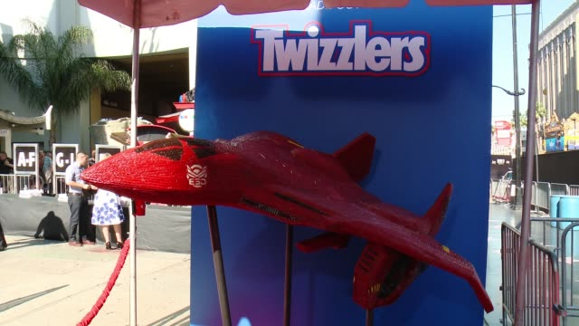 "ATMOSPHERE at Twizzlers is ready for battle at Fox's ""Independence Day Resurgence"" Screening with Vivica A Fox at TCL Chinese Theatre in Los Angeles..."