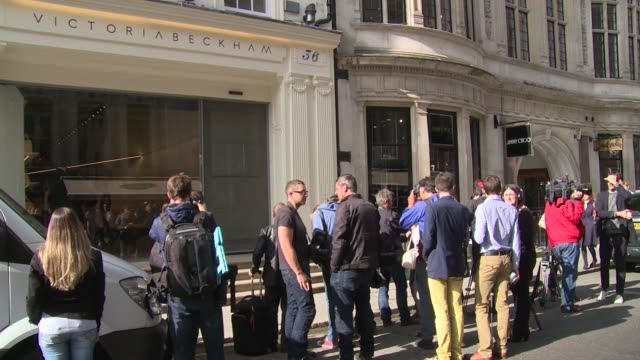 VIEWS at Victoria Beckham store launch on 25th September 2014 in London England