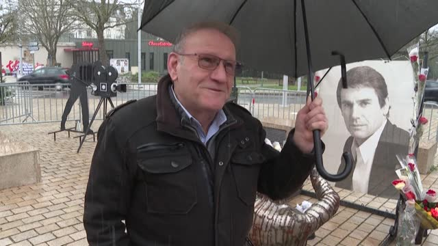 FRA: In Vittel, residents pay their last respects to French actor Robert Hossein