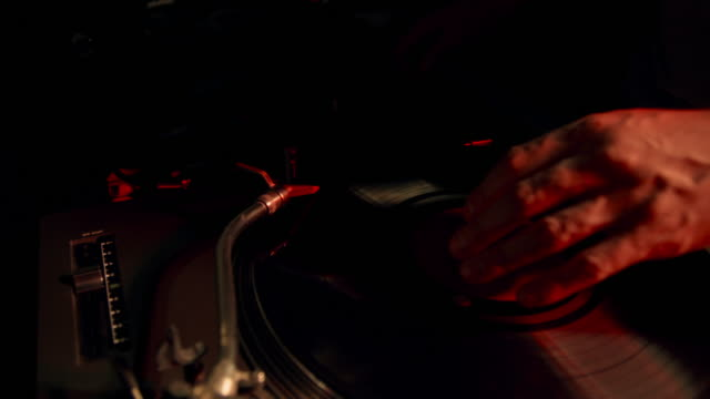 dj at work - disk stock videos & royalty-free footage