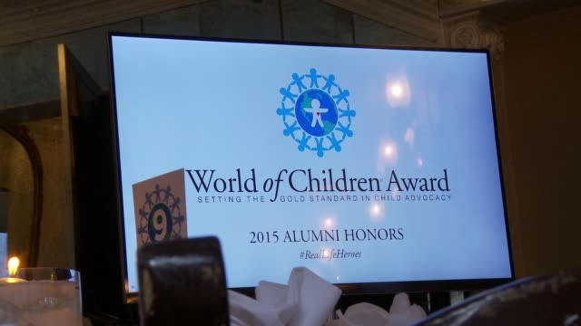 ATMOSPHERE at World of Children Awards 2015 Alumni Honors Il Cielo in Los Angeles CA